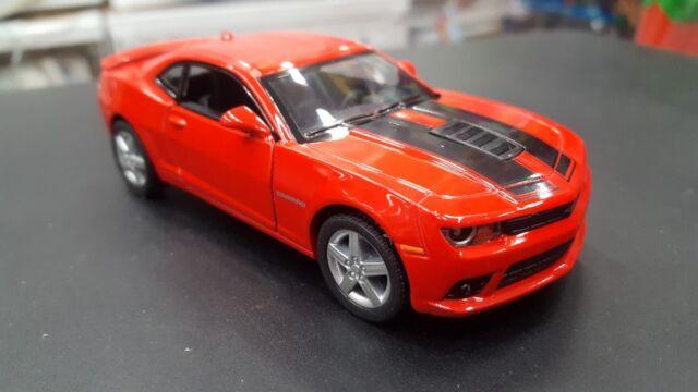 2014 Chevrolet Camaro Rosso Due Fili Kinsmart Auto Giocattolo Modello 1/38