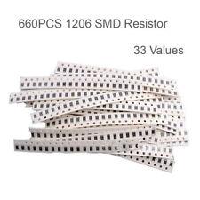 0603 Smd Resistor Kit Assorted Kit 1ohm 1m Ohm 1 33valuesx 20pcs Sampldr