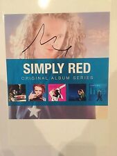 Simply Red Mick Hucknall AUTOGRAPHED picture photo