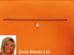 2-METRE-ROLLER-ROMAN-BLIND-CHROME-METAL-CHAIN-BLIND-SPARE-PARTS