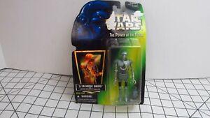 2-1B Medic Droid Star Wars 1996 Action Figure Hologram Green MOC