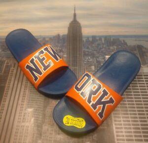 9a48ea2448da Nike Benassi Solarsoft NBA New York Knicks Slide Sandal Size 10 ...