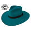 CHARLIE-1-HORSE-Highway-TURQUOISE-Women-039-s-Wool-Western-Hat-w-Feather thumbnail 1
