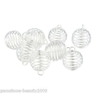 41-20PCs-Spiral-Bead-Cages-Pendants-Findings-25x20mm
