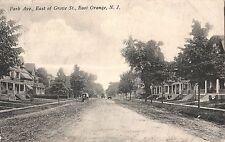 Park Avenue East of Grove Street in East Orange NJ 1914