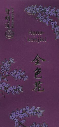 Goldene Blüte Japanische Kenmei Do Räucherstäbchen Hanakonjiki