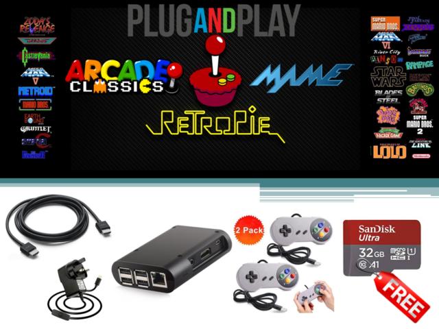 consola retropie raspberry pi 3 arcade emulation
