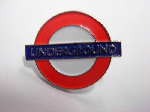 London Underground sign pin badge Souvenir lapel badge The Tube