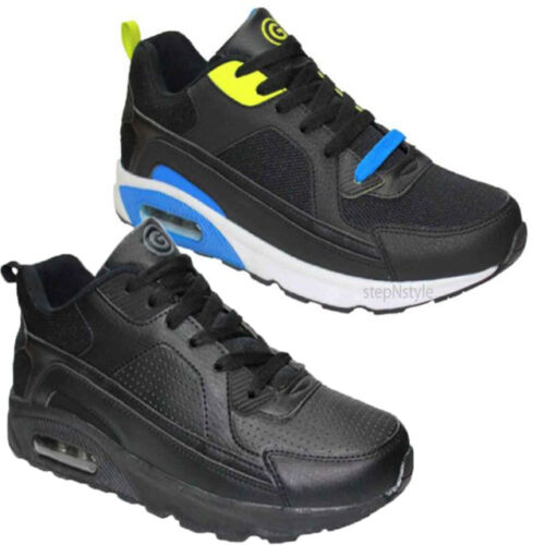 BOYS SPORTS JOGGING TRAINERS GYM CASUAL RUNNING ANKLE HIGH MID CUT BOOTS SHOES