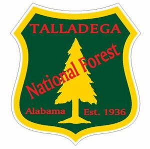 Tuskegee National Forest Sticker R3321 Alabama YOU CHOOSE SIZE