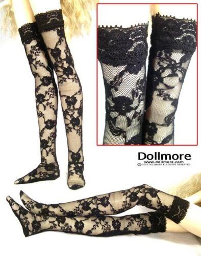 Black Lace Band Stocking Dollmore  1//3 BJD  SD