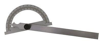 Gradmesser Aus Stahl 0-180° 400 X 800 Mm - Mit Feststellschraube Erfrischend Und Wohltuend FüR Die Augen