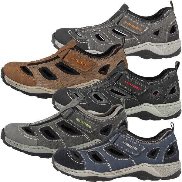 Rieker Scuba Schuhe Men Herren Freizeit Trekking Trekking Trekking Outdoor Trail Halbschuhe 08075  | Zu einem niedrigeren Preis  833663