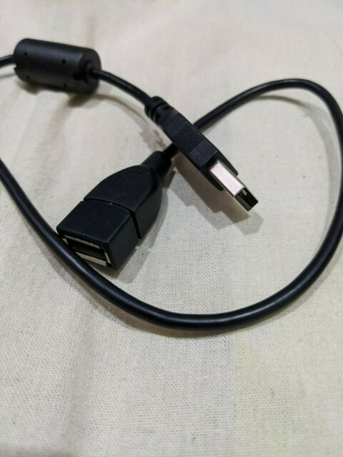USB 2.0 Extension Cable Lead A Male To A Female (50cm)