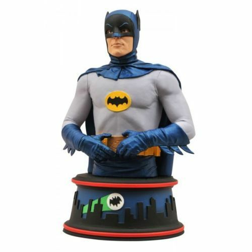 DC DIAMOND SELECT TOYS BATMAN 1966 TV SERIES BUST STATUE LIMITED n. 1643 di 3000