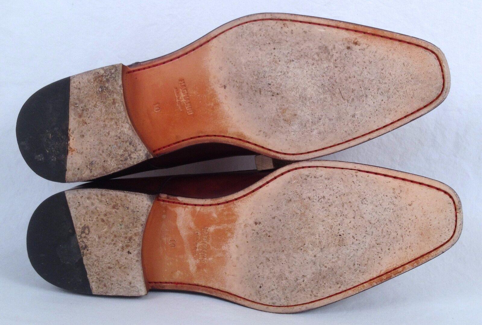 Magnanni 'Colo' Plain Toe Derby- Brown- Size 10 (M5) M   (M5) 10 5d5f9f
