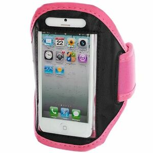 iPhone-6-4-7-034-Baby-Pink-Padded-ArmBand-Mobile-Phone-Case-for-Running-Jogging