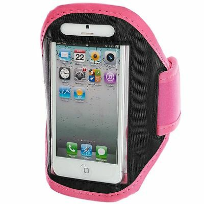 """Angemessen Iphone 6 (4.7"""") Baby Pink Padded Armband Mobile Phone Case For Running, Jogging"""
