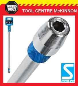 SUTTON-SPEEDBOR-STYLE-12-300mm-QUICK-CHANGE-HEX-DRILL-SPADE-BIT-EXTENSION