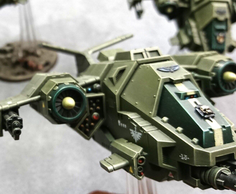 Juegos taller Warhammer 40K-stormhawk Interceptors-Pro Pintado