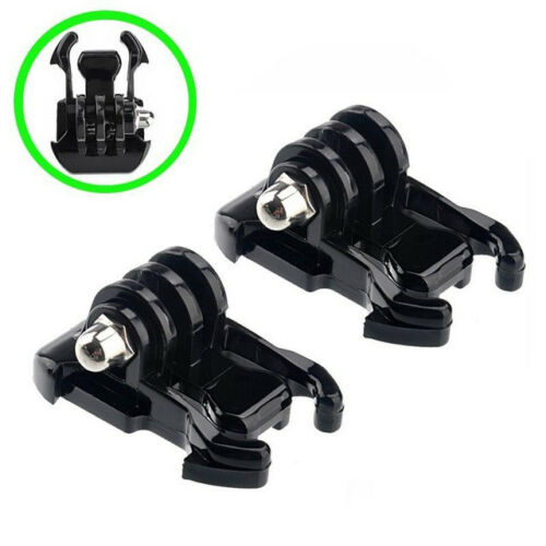 2X Black Buckle Basic Strap Mount Clips For Gopro HD Hero 1 2 3 Camera Camcorder