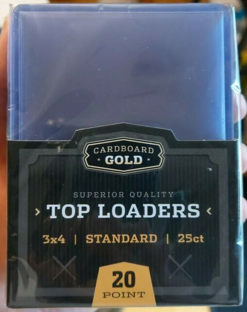 350 Rookie Gold Premium Baseball Trading Card Topload Top ...