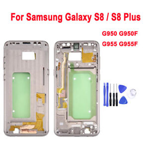 New-For-Samsung-Galaxy-S8-G950-S8-plus-G955-Middle-Frame-Bezel-Housing-Plate