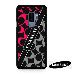 the best attitude 6d698 ba91c Details about Coach New Logo Samsung Galaxy S7 S8 S9 S10 Plus Note 8 9  Phone Case Cover #6