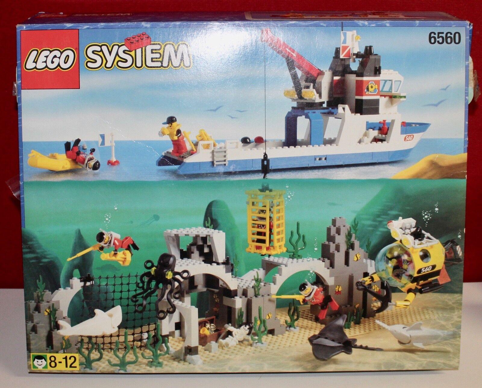Lego 6560 Unterwasser Diving Expedition Explorer aus 1997 OVP OBA BOX TOP