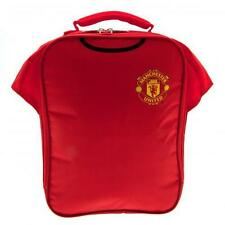 Manchester United Fc Kit Lunch School Sandwich Lunchbox Bag Man Utd