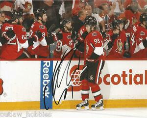 Ottawa-Senators-Mika-Zibanejad-Signed-Autographed-8x10-Photo-COA-D