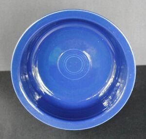 Vintage-Original-FIESTA-COBALT-8-1-2-034-NAPPY-BOWL-w-Glazed-Foot-Fiestaware