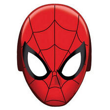 8 Marvel Spiderman Superhero Childrens Birthday Paper Party Favor Masks