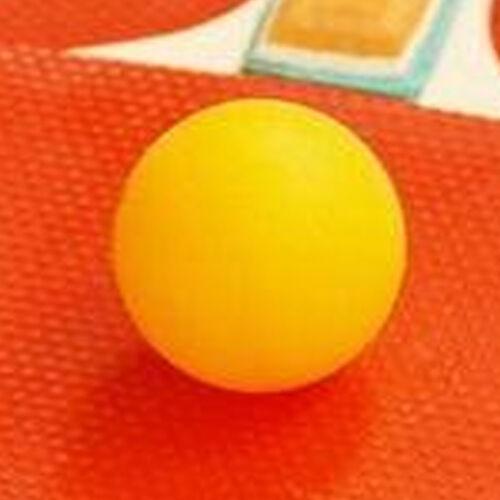 50Pcs Plastic Table Tennis Ball Ping Pong Balls Sports Training White Yellow