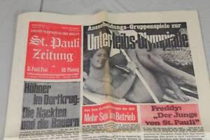 alte Erotik Zeitung - St. Pauli Zeitung , St. Pauli Post