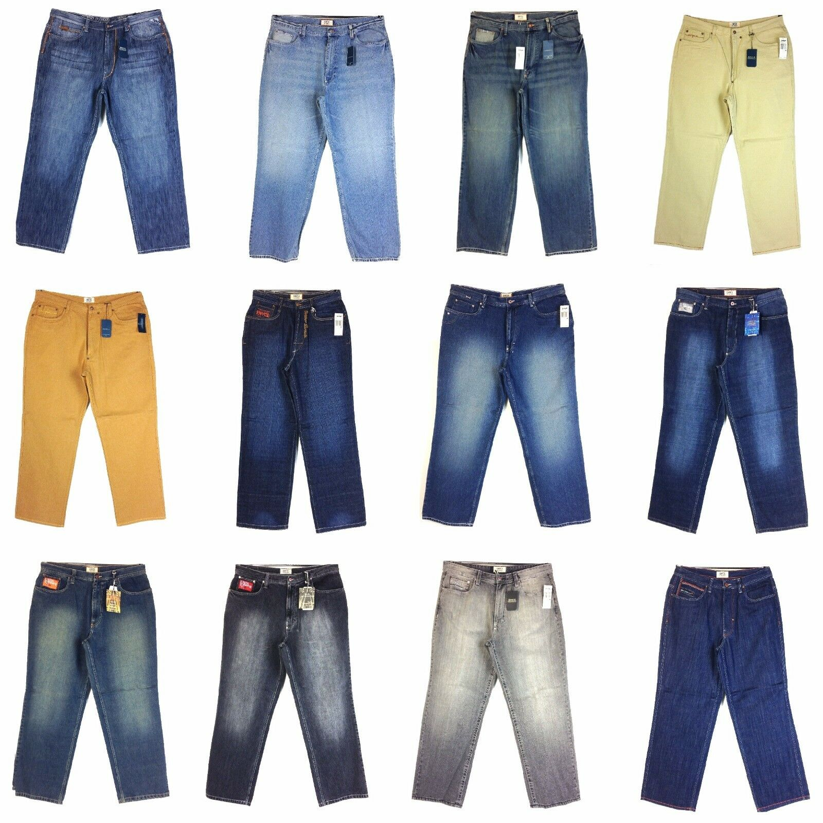 8448d435 ENYCE MEN'S DESIGNER NEW JEAN ASSORTED STYLES GROUP (5), nzcjcb3255-Jeans