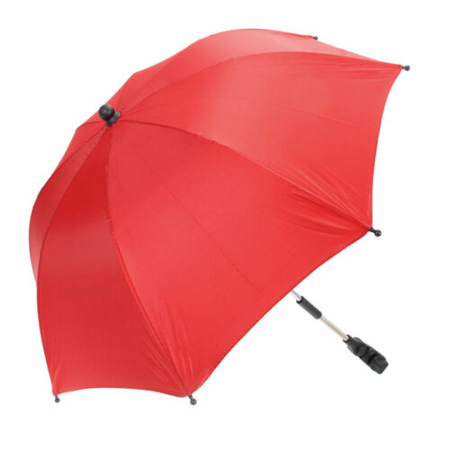 Baby Stroller Wheelchair Pushchair Umbrella Sun Shade Parasol Rain Canopy Cover//
