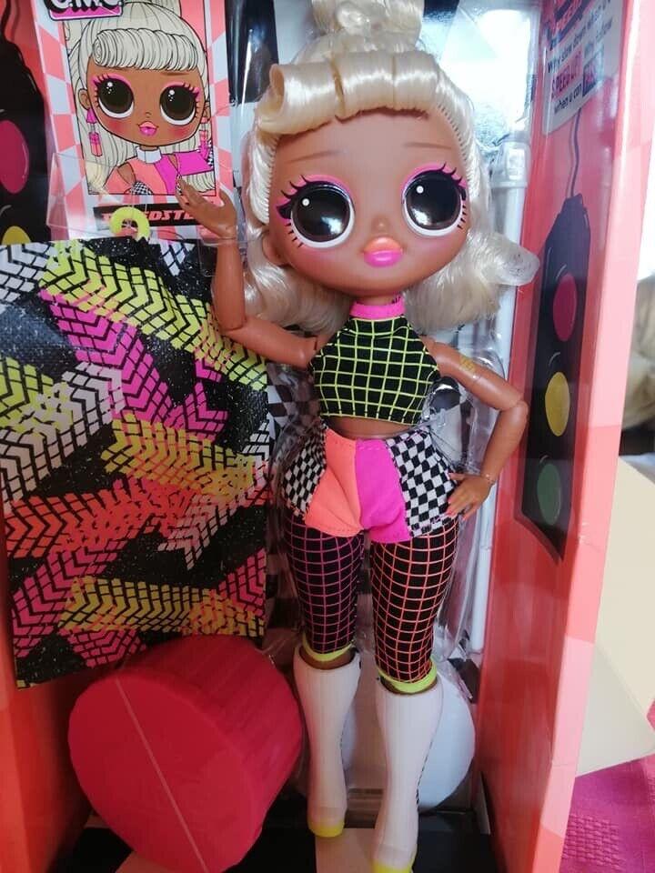 LOL Surprise OMG Speedster série 3 Lights Lumières poupée mannequin Fashion 2020