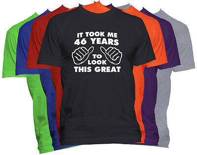 46th Birthday Shirt Happy Birthday Gift Customized T Shirt