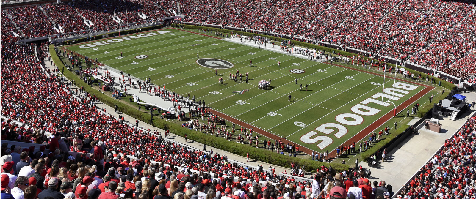 2018 Georgia Bulldogs Football Season Tickets - Season Package (Includes Tickets for all Home Games)