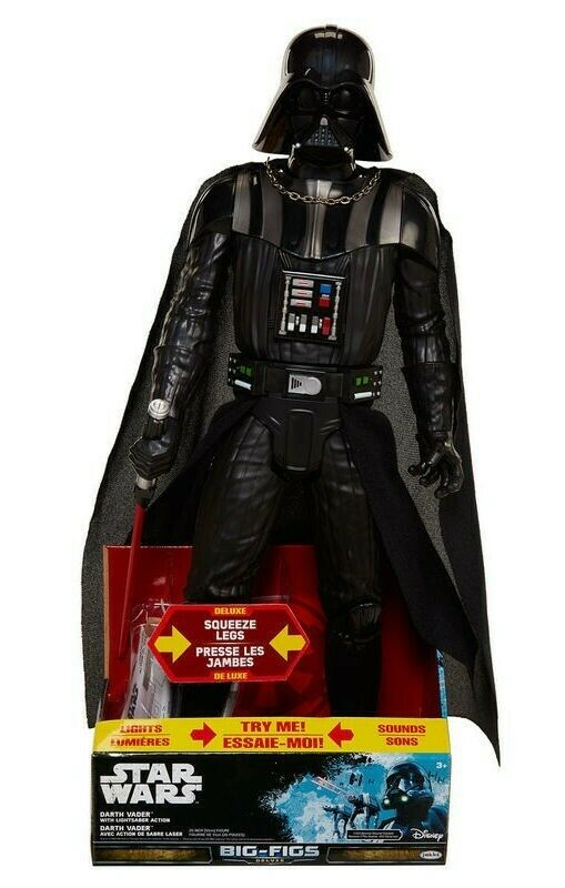 Jakks Pacific Star Wars Big Commandement,Darth Vader 51 cm Light & Sound PVC
