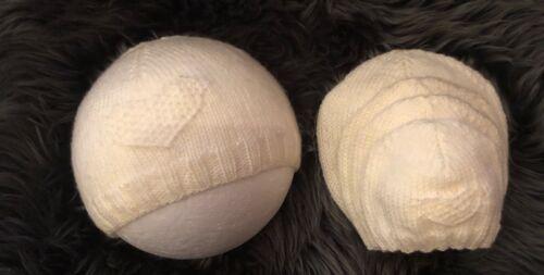 sombrero de bebé prematuro temprana Hand Knitted Preemie desde 1lbs hasta 3 meses