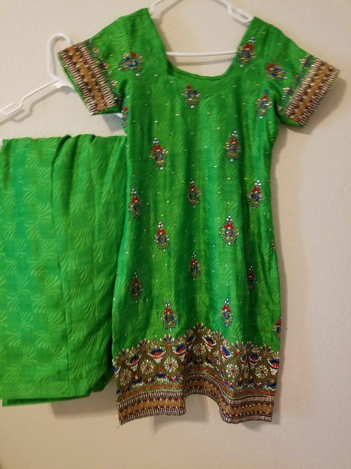 Punjabi patiala salwar suit embroidered Ethnic st… - image 3