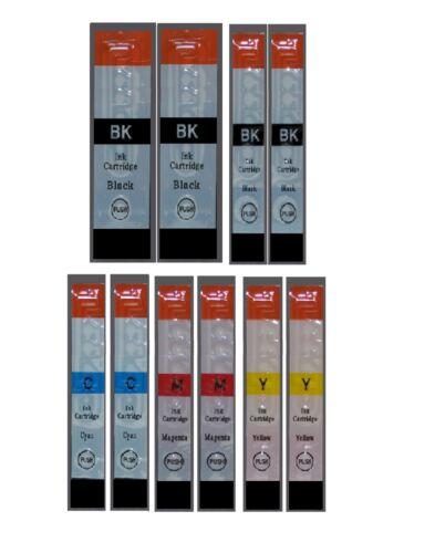 10 bis 40 durckerpatrone für CANON PIXMA  menge /& Farbkombination auswählen
