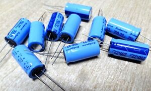 Rubycon Blue Axial Condensateur 35 V 22mf