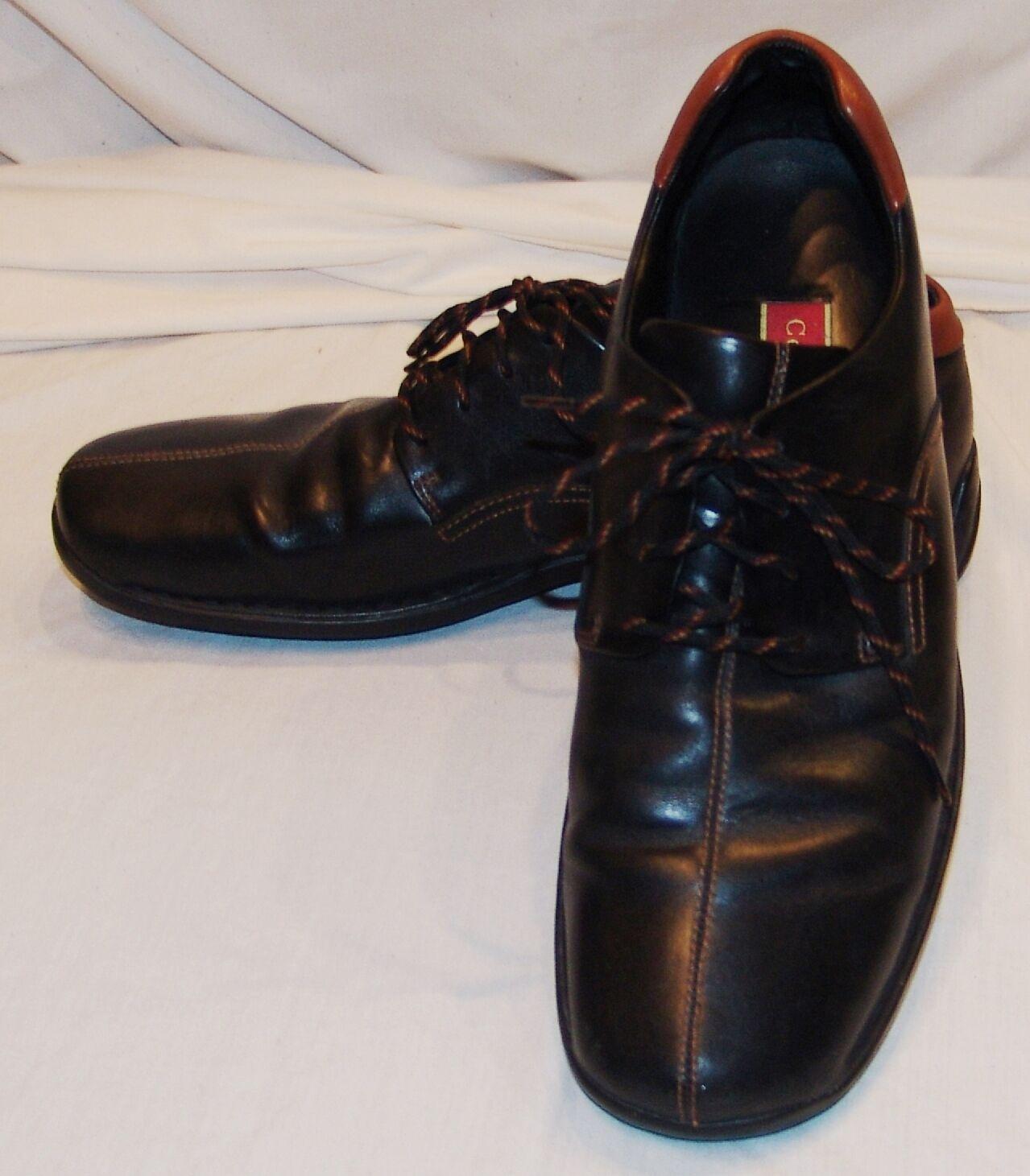 Cole Shoes Haan Black Leather Casual Shoes Cole 13M 13 M Mens 54c071