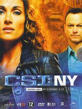 C.S.I. NY : Seizoen 3 aflevering 13 t.e.m. 24 (3 DVD)