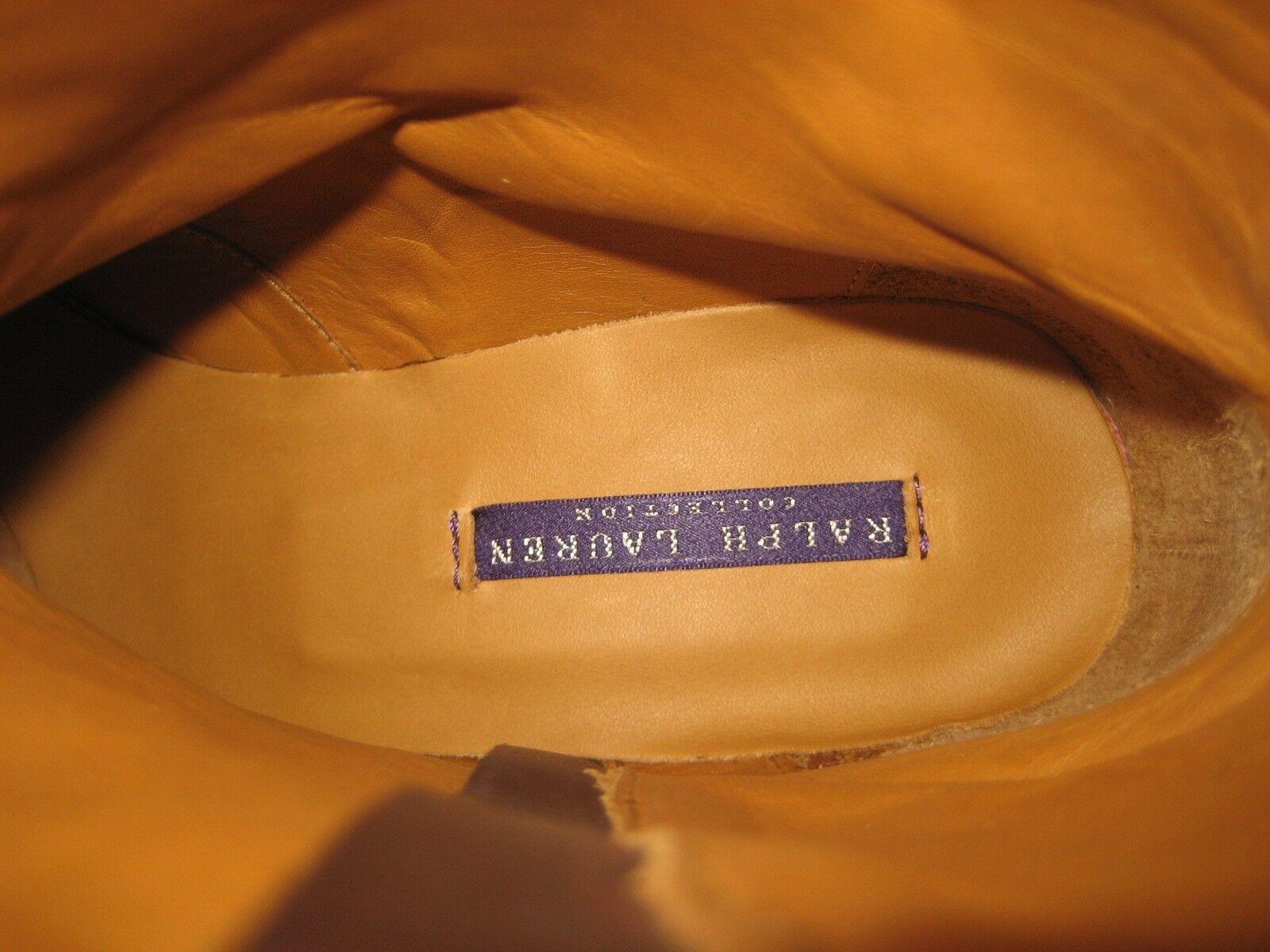 795 NEW RALPH LAUREN COLLECTION US US US 8 marron Suede Ninette Ankle bottes  BOX 608054