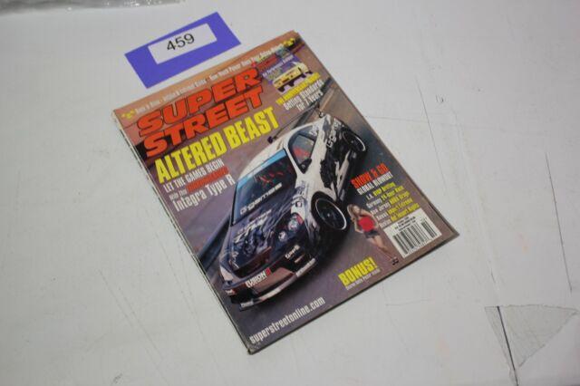 SUPER STREET MAGAZINE October 2003 PULL OUT POSTER EG #459
