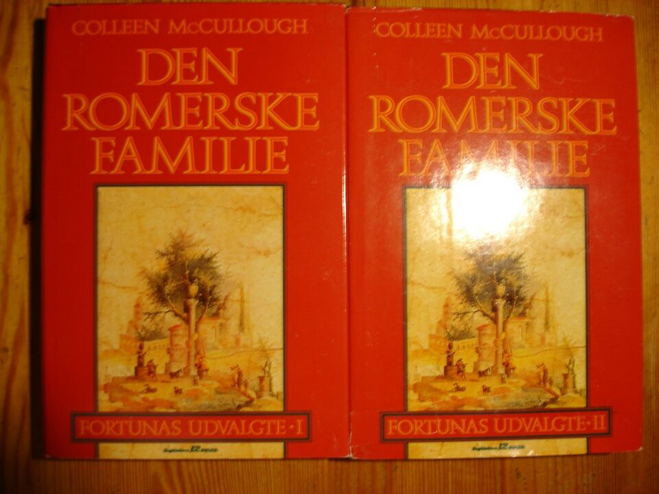 Den Romerske Familie, Colleen McCullough, genre: roman